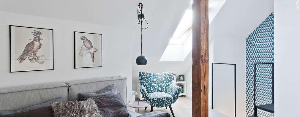 scandinavian Bedroom by homify