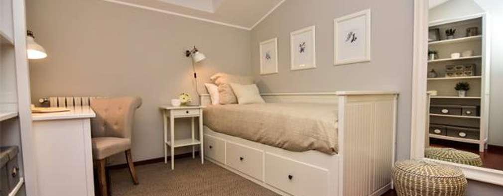 10 dormitorios con muebles de ikea para inspirarte for Mueble rustico ikea