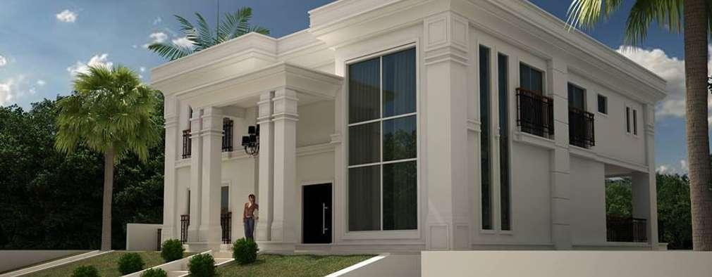 10 fachadas cl ssicas com detalhes maravilhosos para te for Casa classica moderna