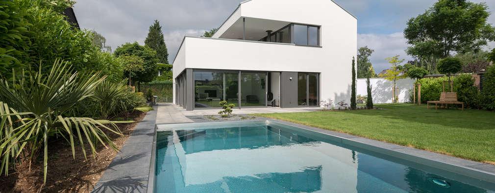 Piscines  de style  par Schmitz Architekten GmbH