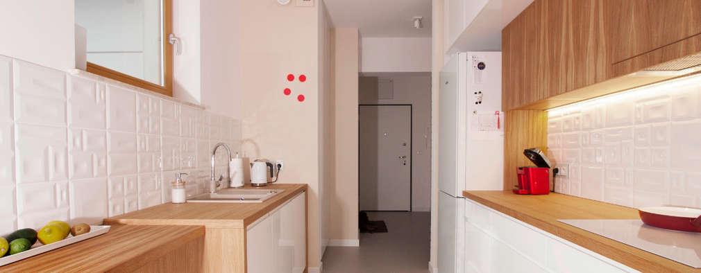 modern Kitchen by Kameleon - Kreatywne Studio Projektowania Wnętrz