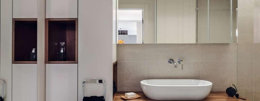 Mieszkanie w Gdyni 2013: styl , w kategorii Łazienka zaprojektowany przez formativ. indywidualne projekty wnętrz