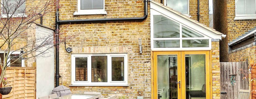 Projekty, nowoczesne Domy zaprojektowane przez nuspace