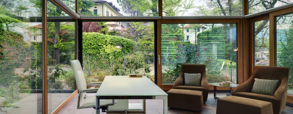 Estudios y despachos de estilo moderno por Studio Marco Piva
