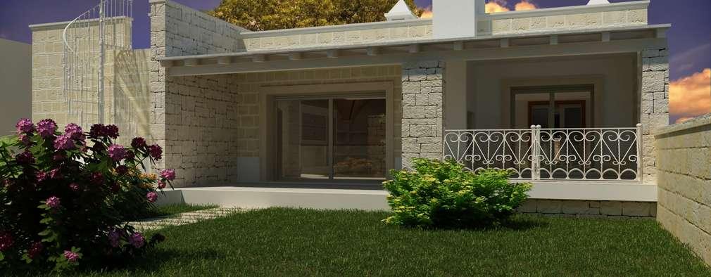 AC House   Vista Esterna: Case In Stile In Stile Mediterraneo Di De Vivo  Home