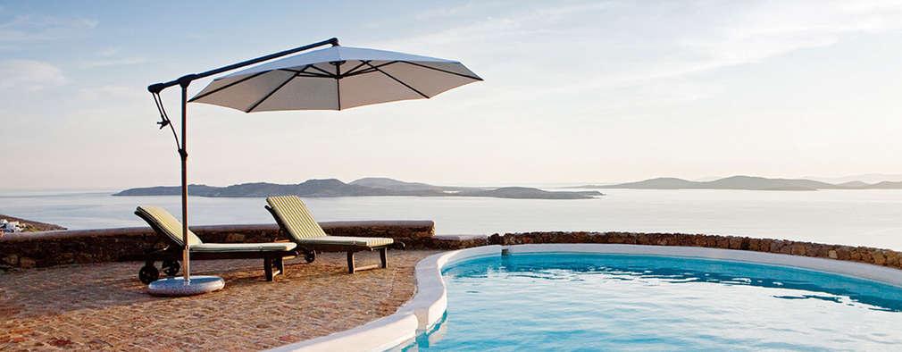 9 coole Sonnenschirme für Garten, Balkon und Terrasse
