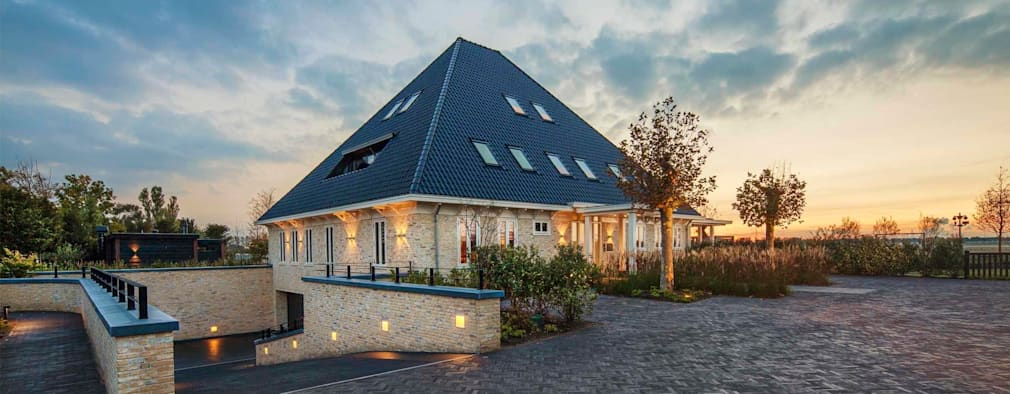 country Houses by Decoussemaecker Interieurs