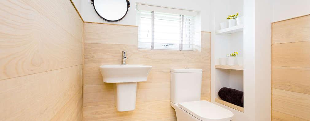 Salle de bains de style  par The Bazeley Partnership