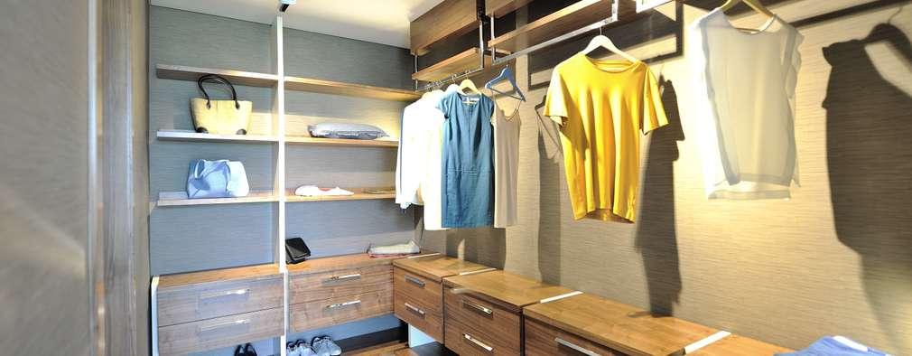 modern Dressing room by Voltaj Tasarım