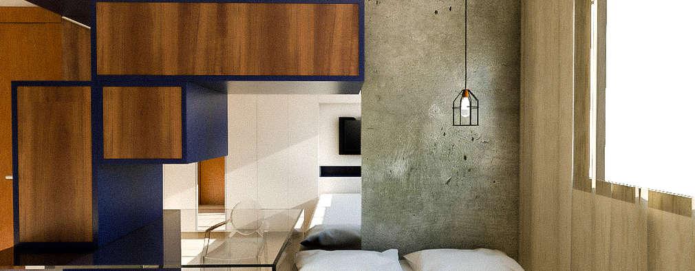 modern Bedroom by 285 arquitetura e urbanismo