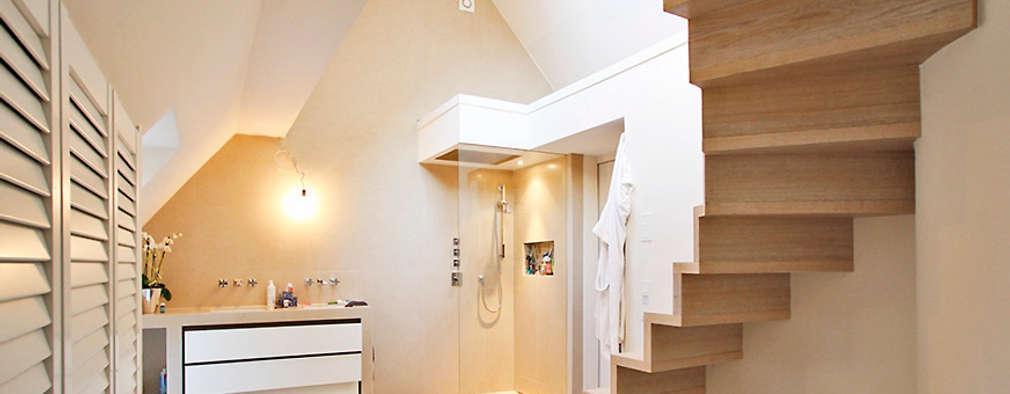 modern Bathroom by Architekturbüro Hans-Jürgen Lison