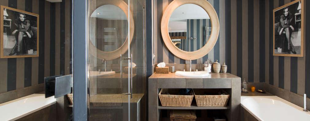 modern Bathroom by Hélène de Tassigny
