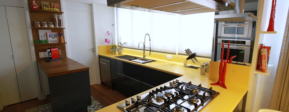 Кухни в . Автор – MeyerCortez arquitetura & design