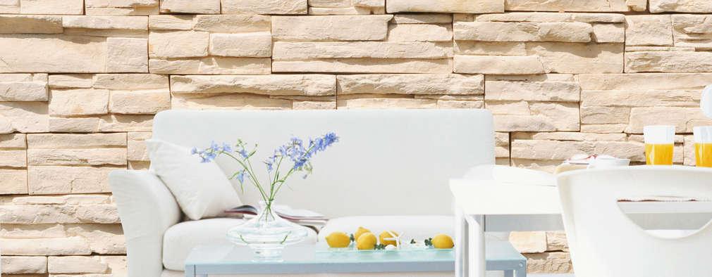voici comment peindre un mur en pierre. Black Bedroom Furniture Sets. Home Design Ideas