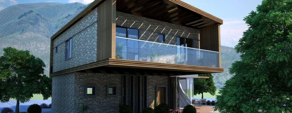 Дома в . Автор – GOOA|GLOBAL OFFICE OF ARCHITECTURE