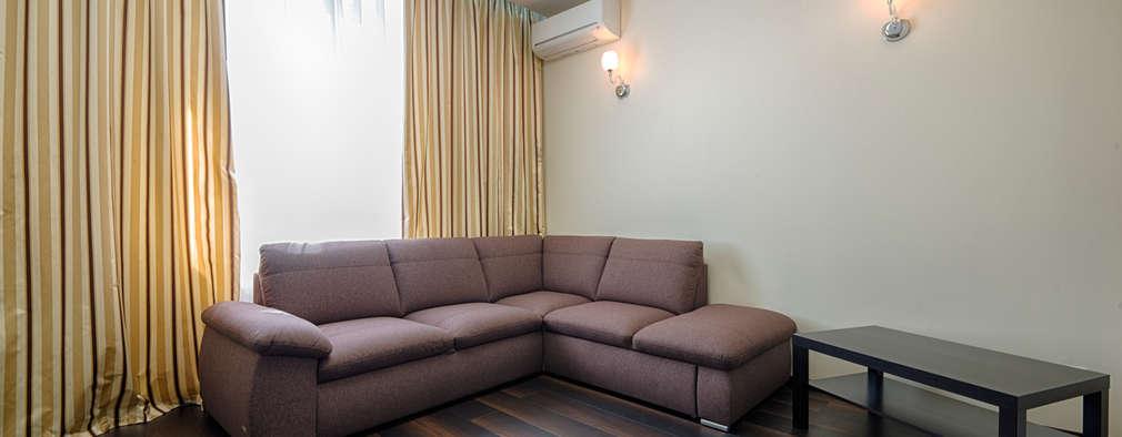 minimalistic Living room by Platon Makedonsky