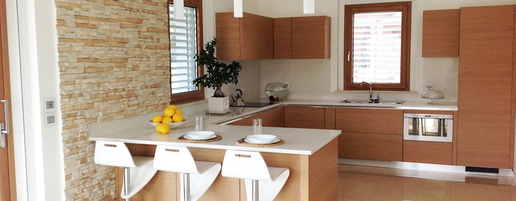 modern Kitchen by Lucia D'Amato Architect