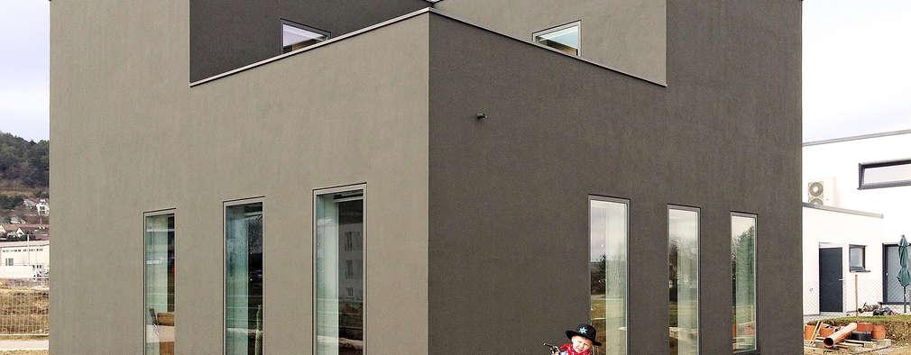 minimalistic Houses by f m b architekten - Norman Binder & Andreas-Thomas Mayer