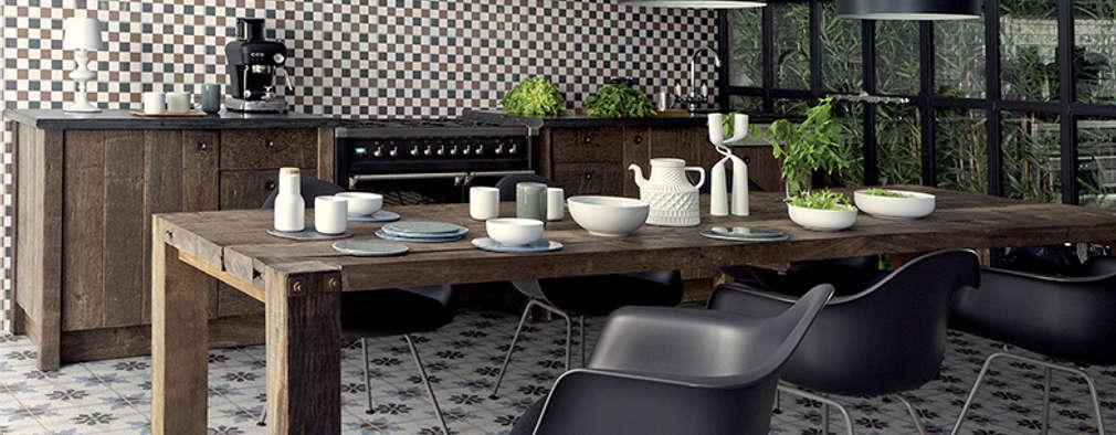 Projekty,  Kuchnia zaprojektowane przez Badkamer & Tegels magazine