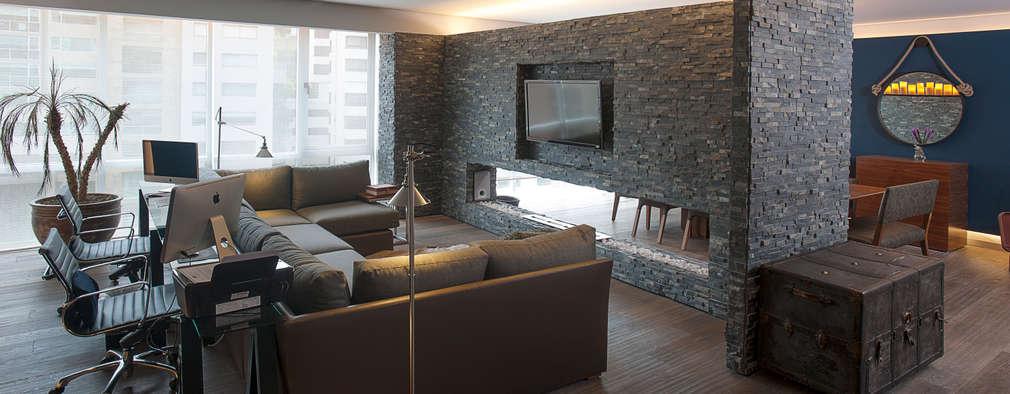 13 ideas para decorar tu casa con piedra y que luzca muy for Como alisar paredes irregulares
