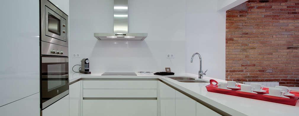 8 ideas para tener una cocina ¡pequeña y moderna!