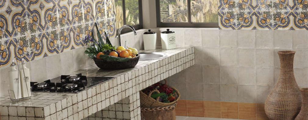 Projekty,  Kuchnia zaprojektowane przez INTERAZULEJO