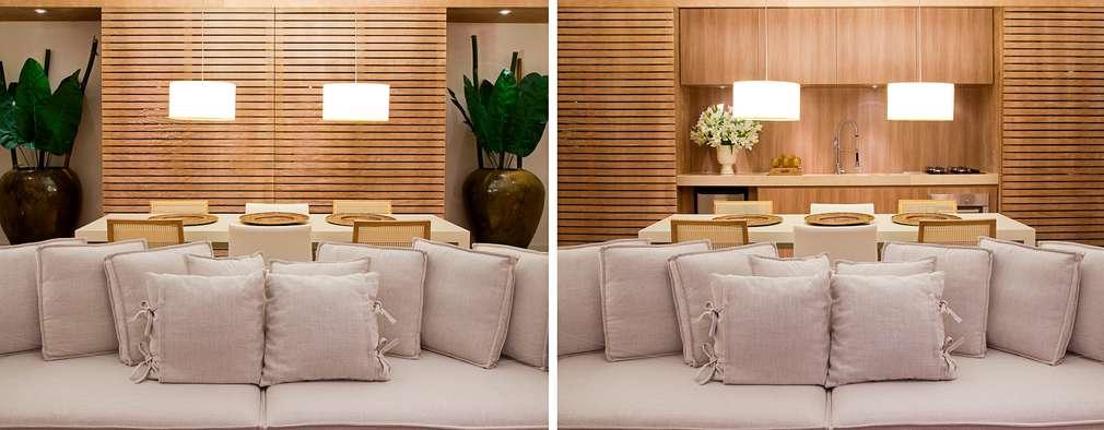 Projekty,  Salon zaprojektowane przez Tweedie+Pasquali