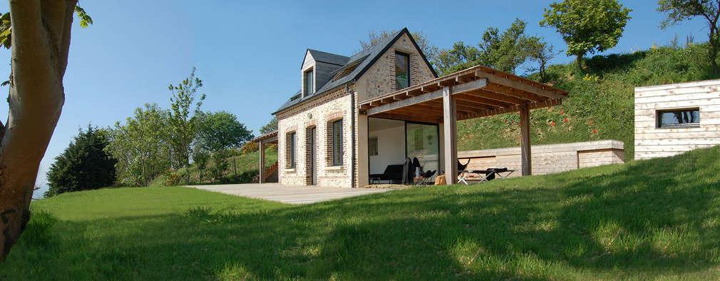 Дома в . Автор – Franklin Azzi Architecture