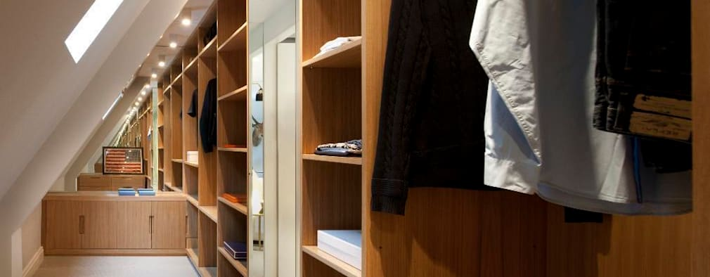 13 dise os de cl sets perfectos para espacios reducidos for Walking closet modernos pequenos