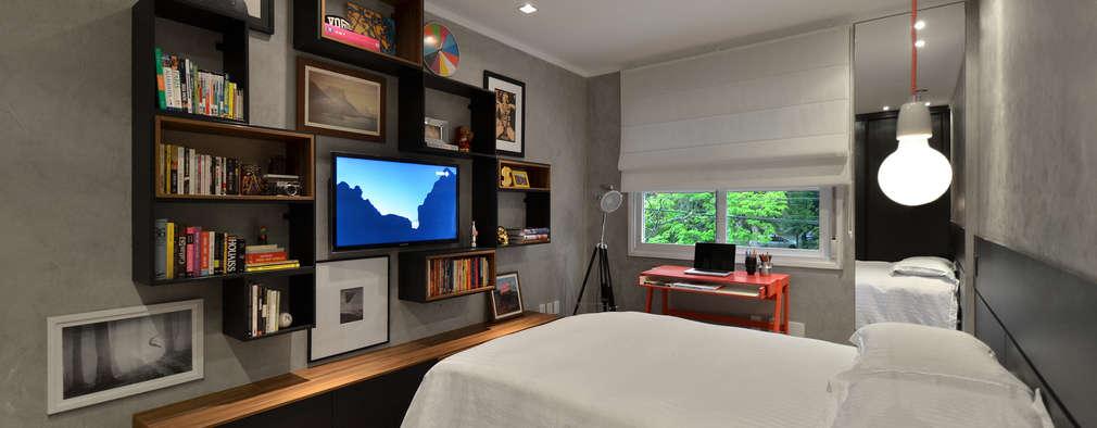 32 ideas para colocar la televisión ¡en el dormitorio!