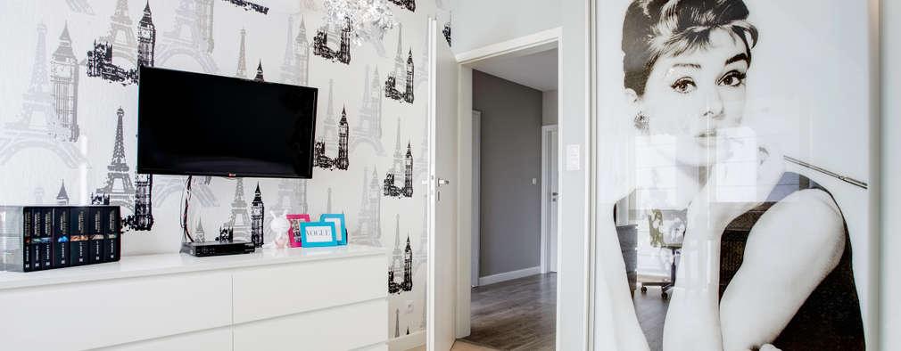 Chambre d'enfant de style de style Moderne par DK architektura wnętrz