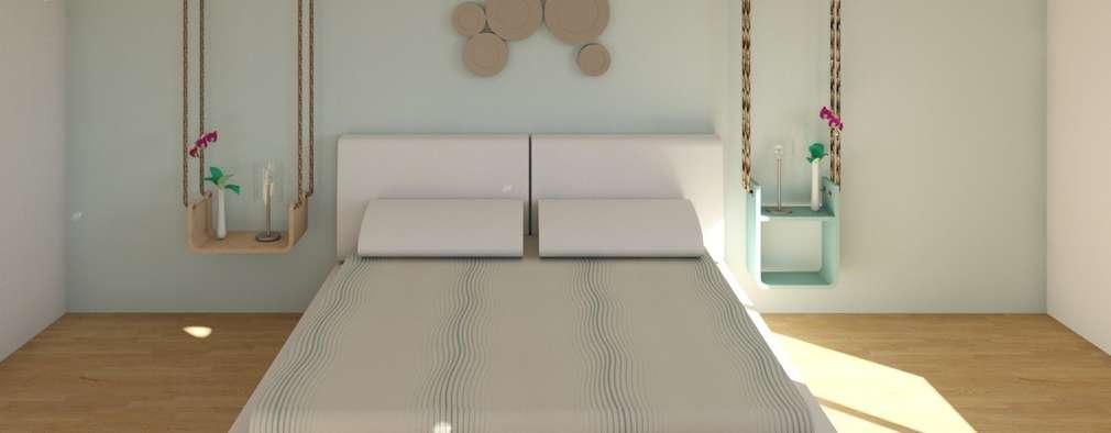 Skandinavische Schlafzimmer Von MIMESIS INTERIORISMO SL