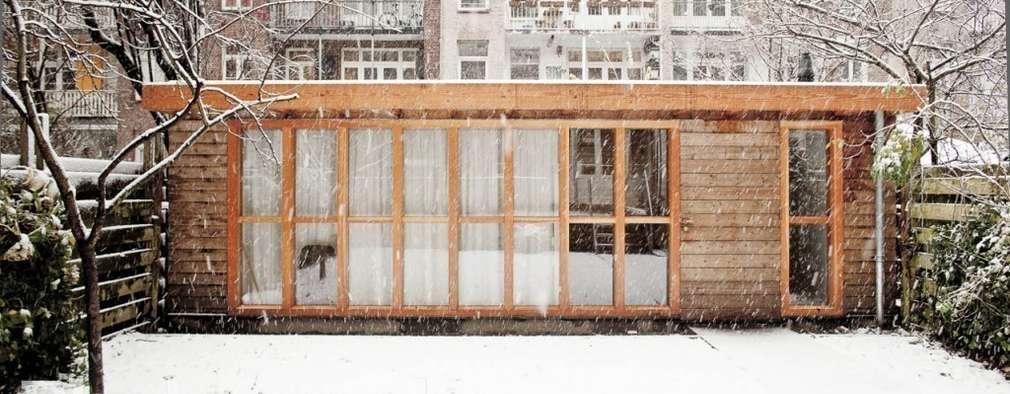 Voorgevel: minimalistische Tuin door Atelier Paco Bunnik