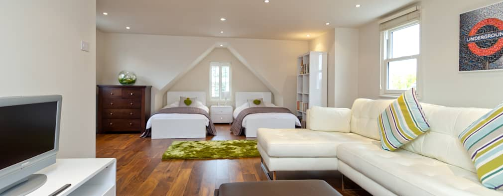 modern Bedroom by A1 Lofts and Extensions