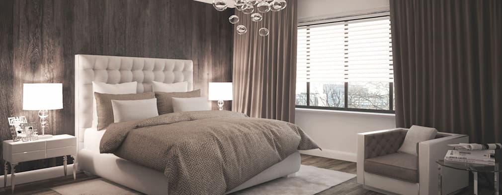 modern Bedroom by formforhome Architecture & Design