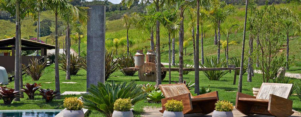 Beth Marquez Interiores: rustik tarz tarz Bahçe