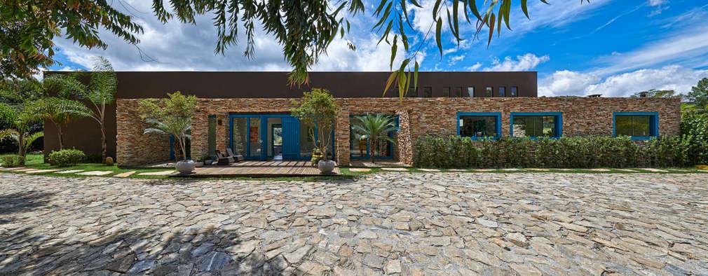 Casas de estilo rústico por Beth Marquez Interiores