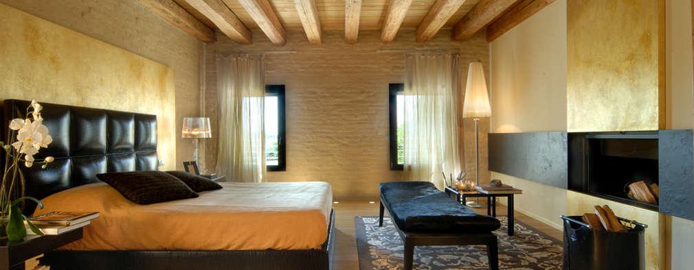 10 geweldige ideeën voor de muren in de slaapkamer