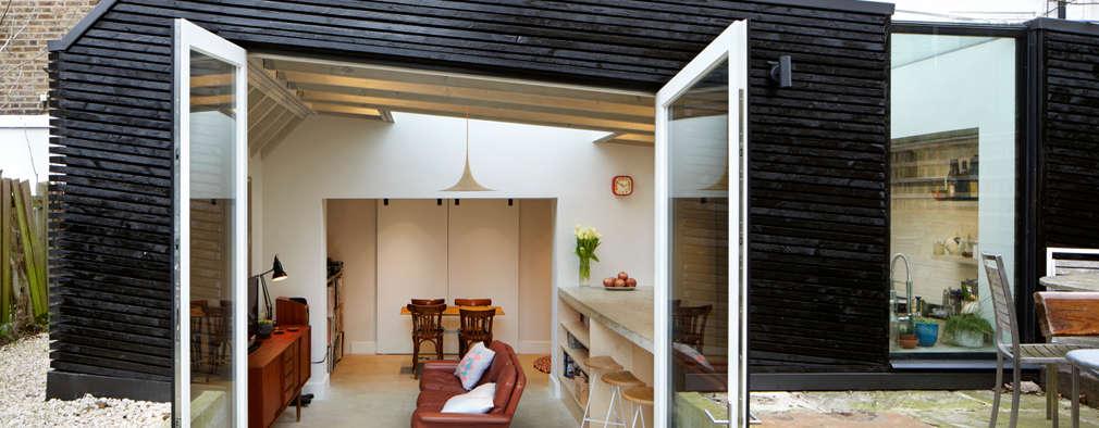Projekty,  Salon zaprojektowane przez Fraher Architects Ltd
