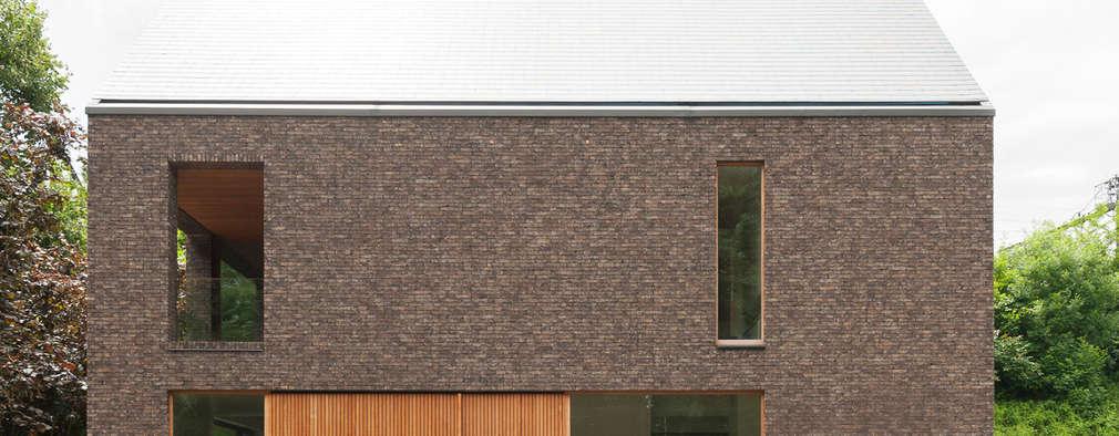 H118: moderne Huizen door das - design en architectuur studio bvba