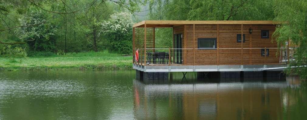 modern Houses by Floating Habitats T/A AQUASHELL