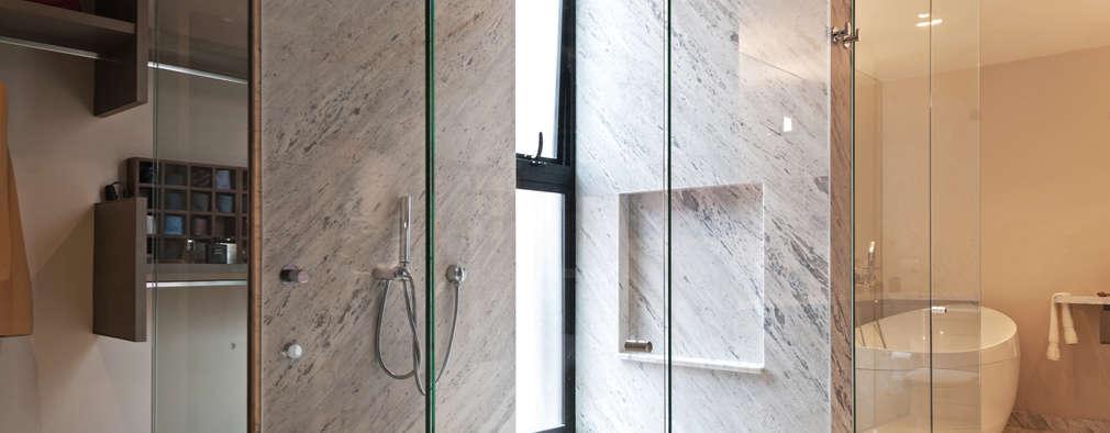 Ванные комнаты в . Автор – Faci Leboreiro Arquitectura
