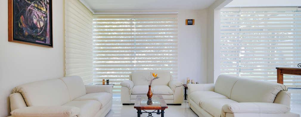 modern Living room by Excelencia en Diseño