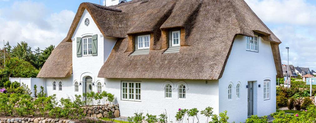 Casas de estilo rural por Immofoto-Sylt
