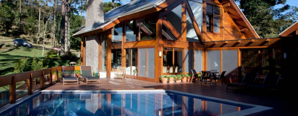 Piscinas de estilo  por Liane Mazeron Rump Arquitetura