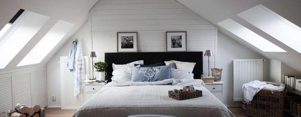 Apartament na Kabatach: styl , w kategorii Sypialnia zaprojektowany przez Studio Inaczej