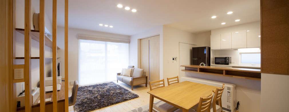 Ruang Makan by 一級建築士事務所 想建築工房