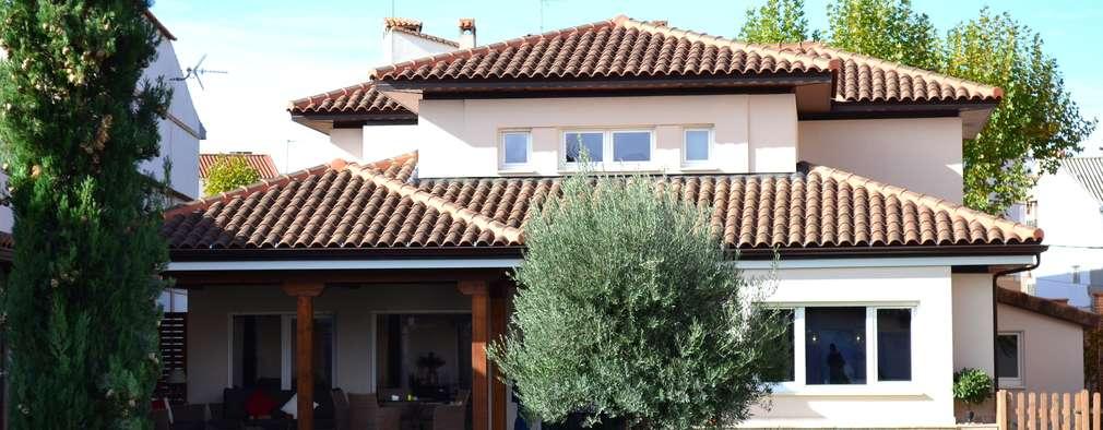 Casas de estilo  por Canexel
