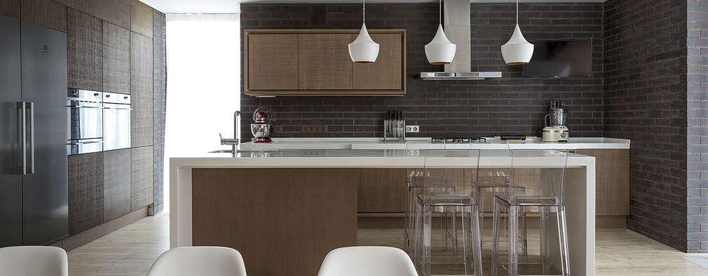 10 cocinas comedor espectaculares para tu casa - Cocina comedor integrados ...