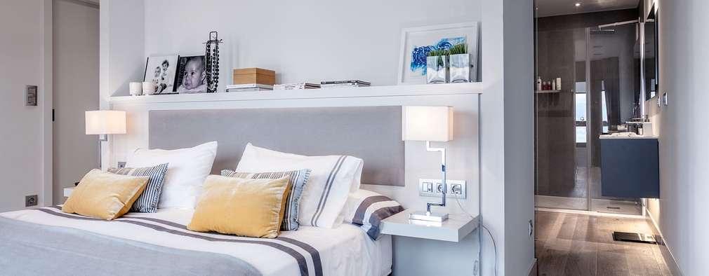 غرفة نوم تنفيذ SILVIA REGUERA INTERIORISMO